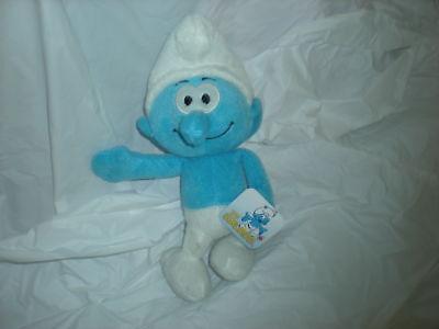 2010 Smurf 10  Plush Plush Peyo Smurf Cute Lovey