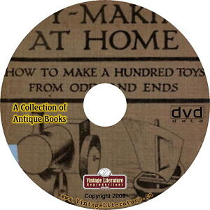 How-To-Make-Old-Fashioned-Toys-33-Vintage-Books-on-DVD