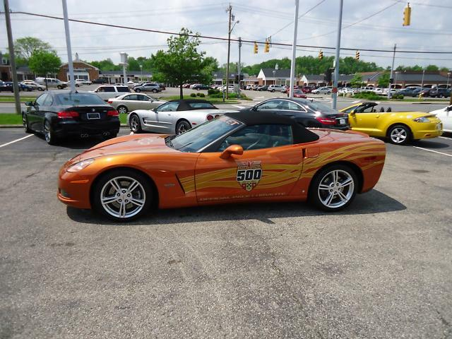 used 2007 chevrolet corvette indy pace car conv 3k miles. Black Bedroom Furniture Sets. Home Design Ideas