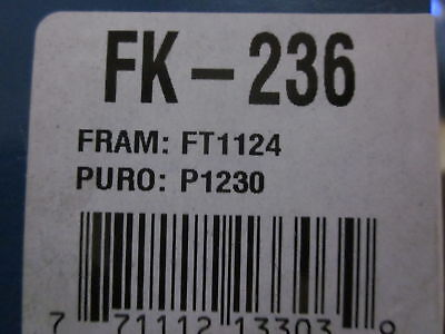 Pro-king Automatic Transmission Filter Kit Fk-236 Compatible W/ Ft1124 & P1230