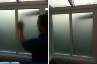 DIY Frosted Glass Privacy Window Film - Fitting Guide