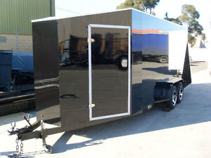 Fully Enclosed Car Carrier Trailer