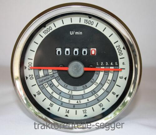 Traktormeter für Eicher 3048 3056 3066 3072 Traktor 506 Foto 1