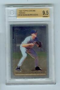 1999-TOPPS-CHROME-TRADED-T40-SEAN-BURROUGHS-ROOKIE-CARD-RC-PADRES-BGS-9-5-651