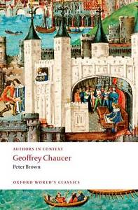 Geoffrey Chaucer (Authors in Context) (Oxford World's Classics)-ExLibrary