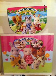 Calico Critters Dealer Display Signs Banners XXL RARE