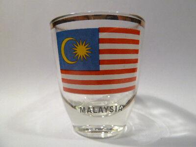 Malaysia Shot Glass Shotglass