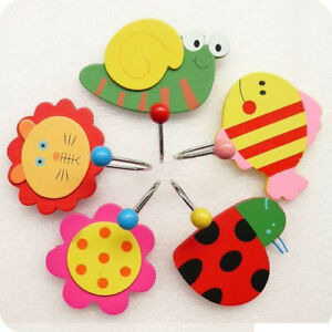 8 x Wooden Wall Hook Rack Holder,Kids,Favours,RAM001