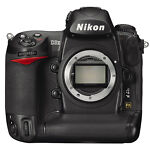 Nikon COOLPIX D3x 24.5 MP Digital SLR Camera - Black (Body Only)