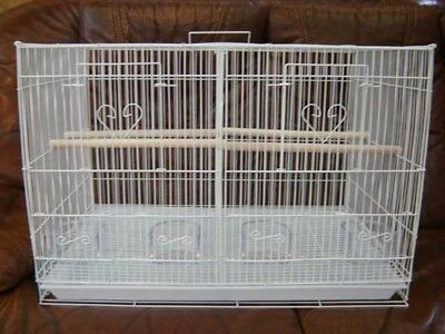 1 case of 6 Bird Cage Breeding Breeder Flight With Center Divider 2434-118