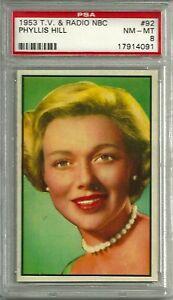 1953-BOWMAN-NBC-TV-RADIO-92-PHYLLIS-HILL-PSA-8