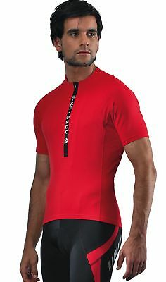 Etxeondo Meersburg S/sleeve Cycling Jersey Road Red