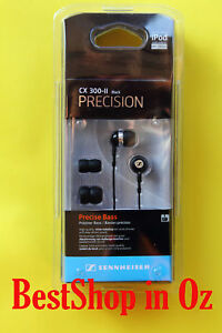 Sennheiser CX 300-II Precision Earphones Headphones Black New