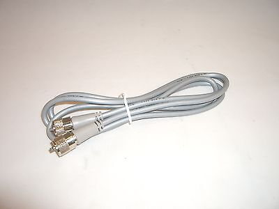 Workman 8x-6-pl-pl-gry 6ft Rg-8x Antenna Coax Patch Cable Gray W/ Molded Pl-259s