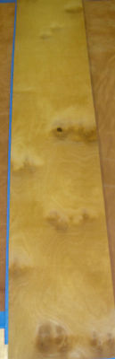 Mappa Cluster Burl Wood Veneer 5 X 53 No Backing