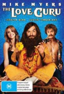 THE LOVE GURU Sealed DVD Jessica Alba Free Local Ship