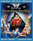 Snow White and the Seven Dwarfs (Blu-ray/DVD, 2011, Canadian)