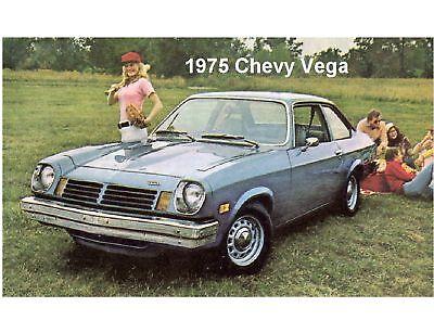 1975 Chevy Vega Auto Car Refrigerator / Tool Box Magnet