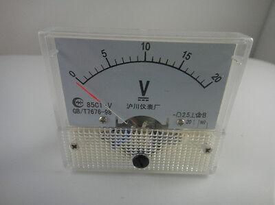 020v Dc 85c1 Analog Volt Voltage Panel Meter Voltmeter