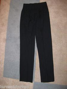 Mens-Black-Dress-Pants-Cintas-28-30-32-34-36-38-x-32-34