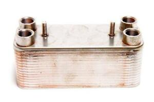 Heat Exchanger - 30 Plate - camping shower - biodiesel - SVO - water oil