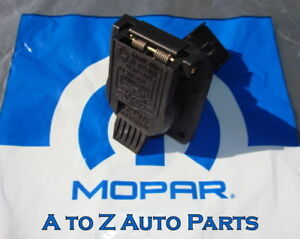 new-dodge-ram-dakota-durango-jeep-etc-7-pin-trailer-plug-connector-oem-mopar 99 gmc trailer wiring diagram 99 dodge trailer wiring