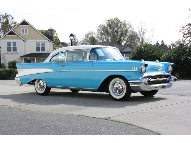 1957 Chevrolet Bel Air Hardtop, One Owner, Frame Off!
