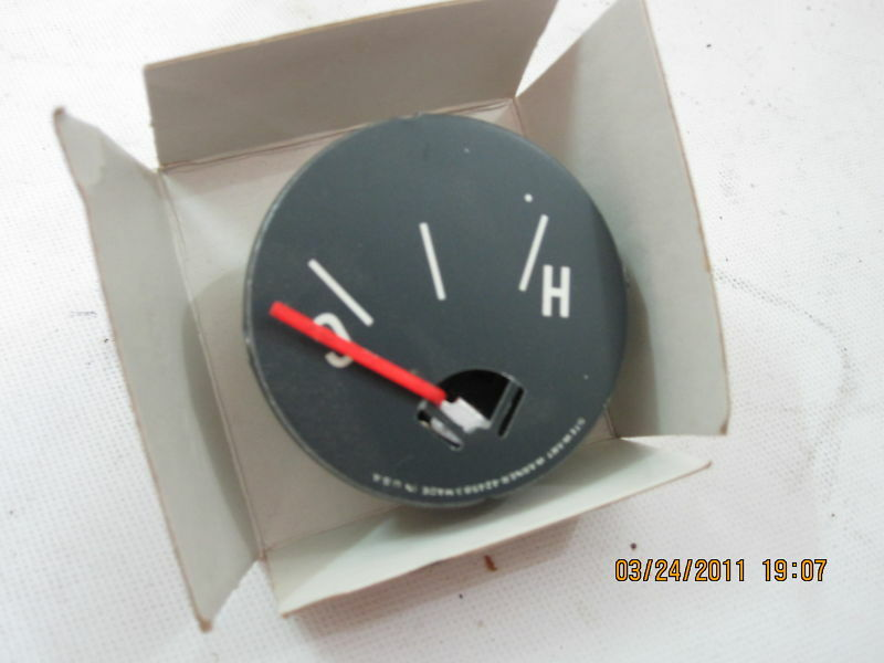 Jeep Willys CJ3B CJ5 CJ6 CJ7 Stewart Warner Temp Gauge