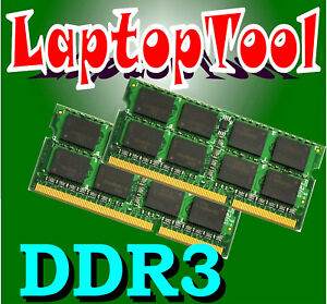 16GB 2X 8GB DDR3 PC3-10600 SODIMM PC10600 1333MHz LAPTOP MEMORY RAM 16 GB (8GBx2