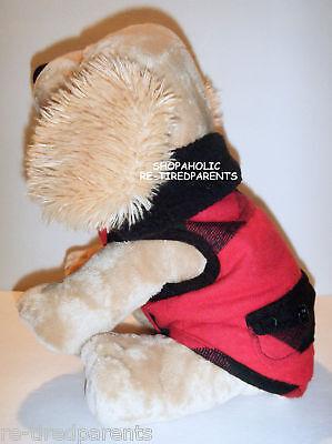 Coat - Pet - Dog - Puppy - Boy - Red - Black - Plaid – Xxs - Sm Or Med -