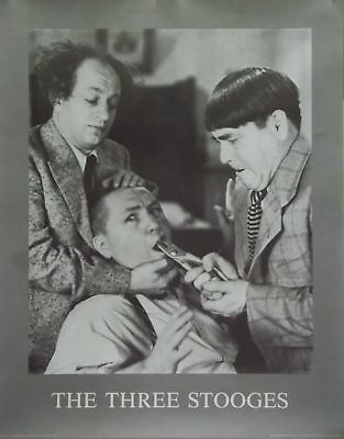 The 3 Three Stooges 22x28 Dentistry Poster 1988