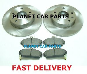 LANDROVER-FREELANDER-1-8-2-0D-1997-2000-FRONT-2-BRAKE-DISCS-AND-PADS-SET-NEW