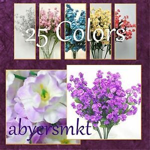 12-Silk-Babys-Breath-Flowers-Gypso-FILLER-Gypsophila