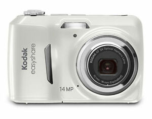 Kodak-Easyshare-C1530-14-MP-Digital-Camera-White-3x-Optical-Zoom-3-LCD-New