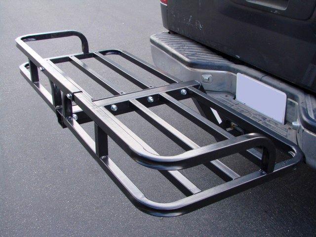 Steel Cargo Carrier Luggage Basket Receiver Hitch Mount Hauler Car Suv Truck Atv on Sale