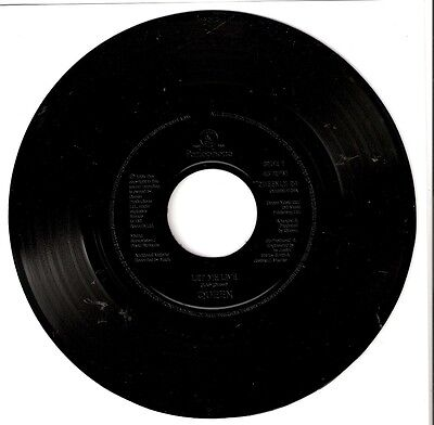 "QUEEN - Let me Live (1995) UK 7"" JUKEBOX PROMO"