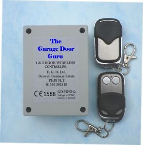 GARAGE-DOOR-PARTS-SPARES-UNIVERSAL-REMOTE-CONTROL-KIT