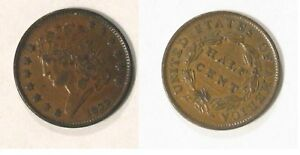 Introduction to Classic Head US Half Cent 1809 to 1836
