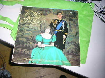 LP VA Royal Wedding Prince Charles Lady Di BBC REC