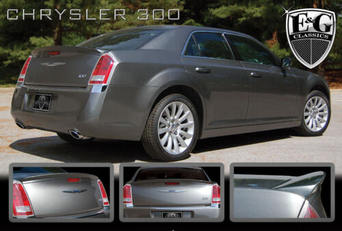 2013 Chrysler 300 For Sale >> 2011 2012 2013 2014 CHRYSLER 300 UNPAINTED REAR DECK SPOILER E&G | eBay