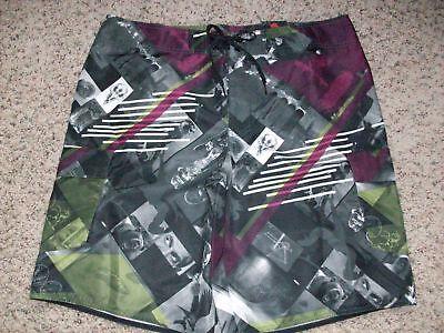 Tony Hawk Multicolor Swim Suit Board Shorts Mens 36 Free Ship