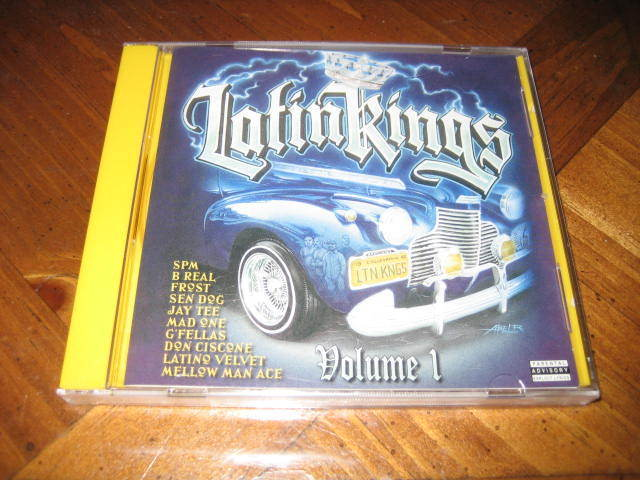 Latin Kings Volume 1 Rap Cd - Spm B-real Frost G'fellas Slow Pain Latino Velvet