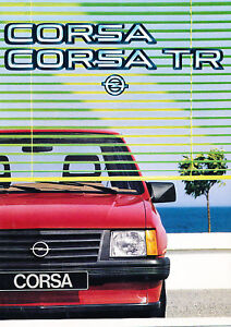 1984-Opel-Corsa-German-Sales-Brochure-Prospekt