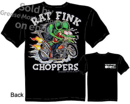 Rat Fink Choppers T Shirt Big Daddy Shirt Ed Roth Tee, Sz M L Xl 2xl 3xl,