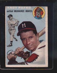 1954 Topps Andy Pafko 79 Baseball Card