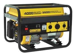 Champion Equipment 46533 4000 Watt 6 5 Hp Generator