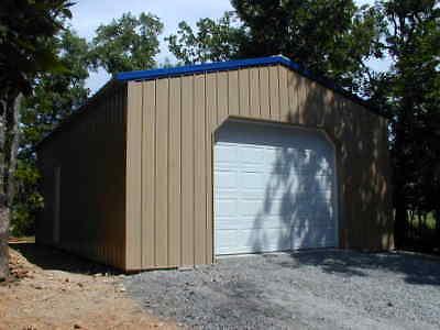 Pole Barn 24x36x14 Garage Full Material List Building Plan- E-file Pdf Or Word