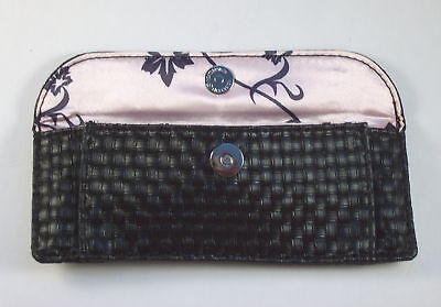 Smashbox For Travel Size Brushes Brush Bag Black Snap Closure