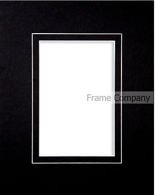 Packs of 10* Black White or Ivory Picture Photo V Groove Mounts
