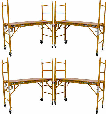 4 Mfs Scaffold Rolling Towers 29w X 6h Deck W U Lock